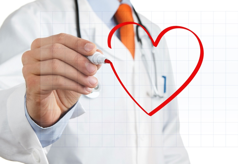 Heart Drawing and Doctor